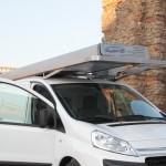Allestimento tende automatiche anche su furgoni di piccole dimensioni