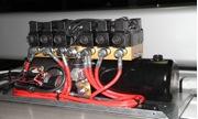 sistema idraulico con centralina monoblocco